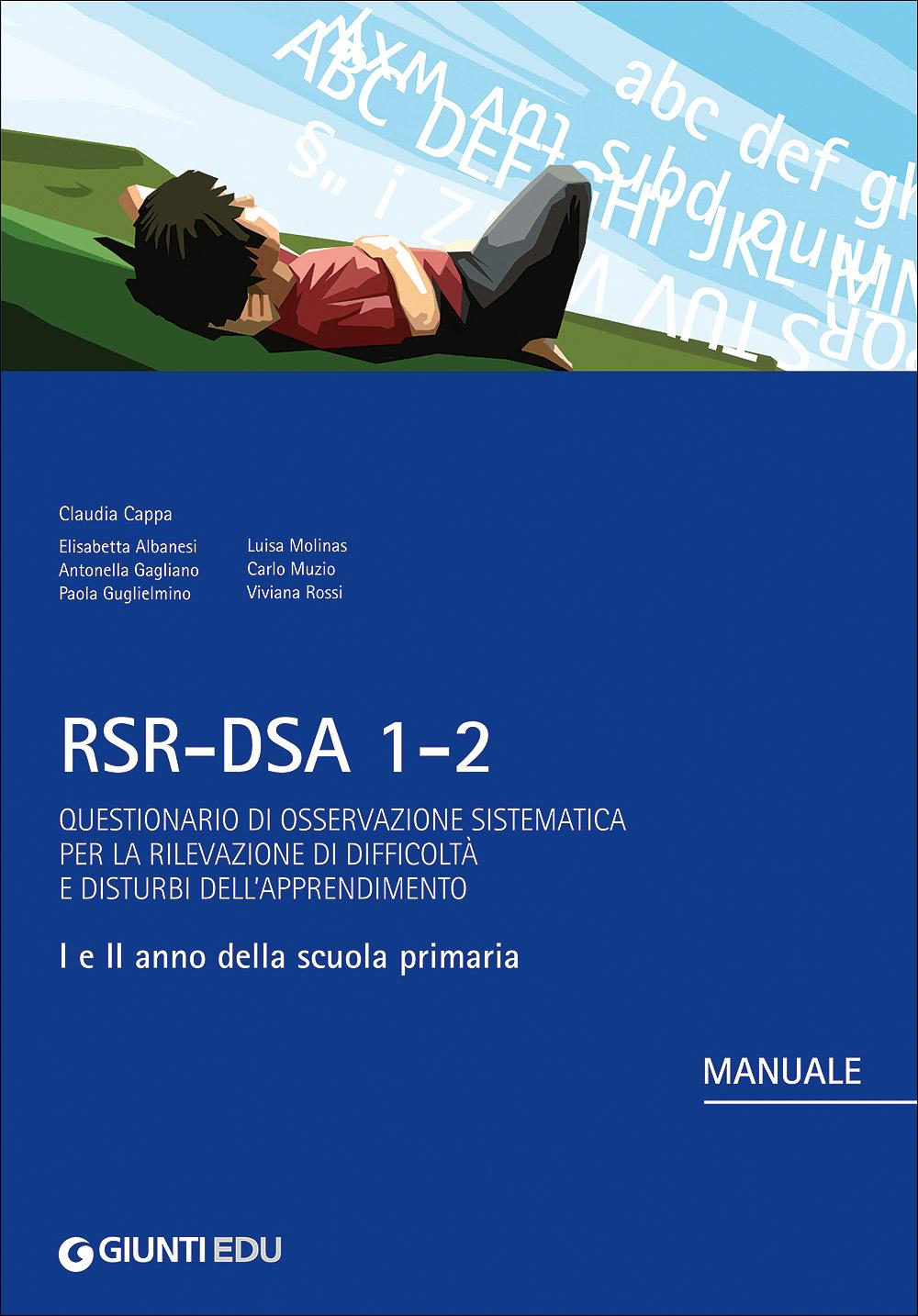 RSR-DSA 1-2 - Ricariche questionari insegnanti + genitori