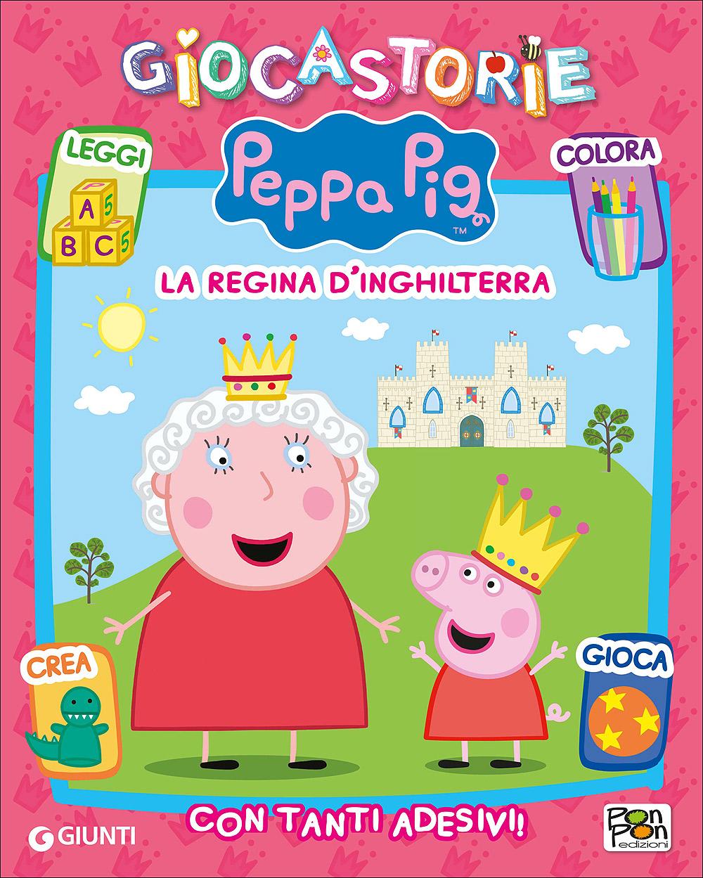 Giocastorie Peppa Pig - La regina d'Inghilterra