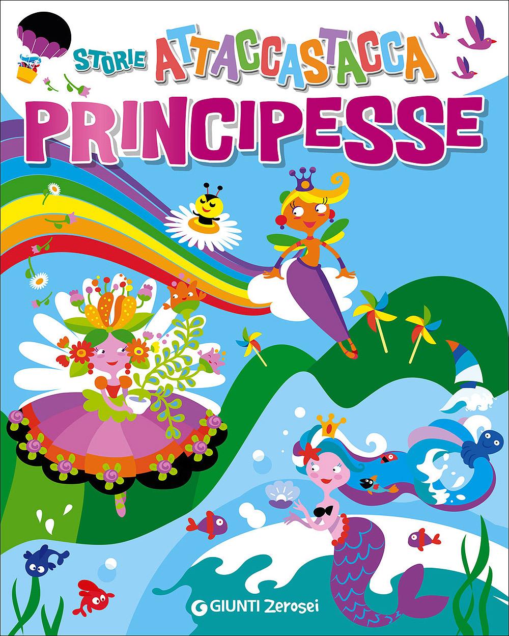 Storie attaccastacca - Principesse