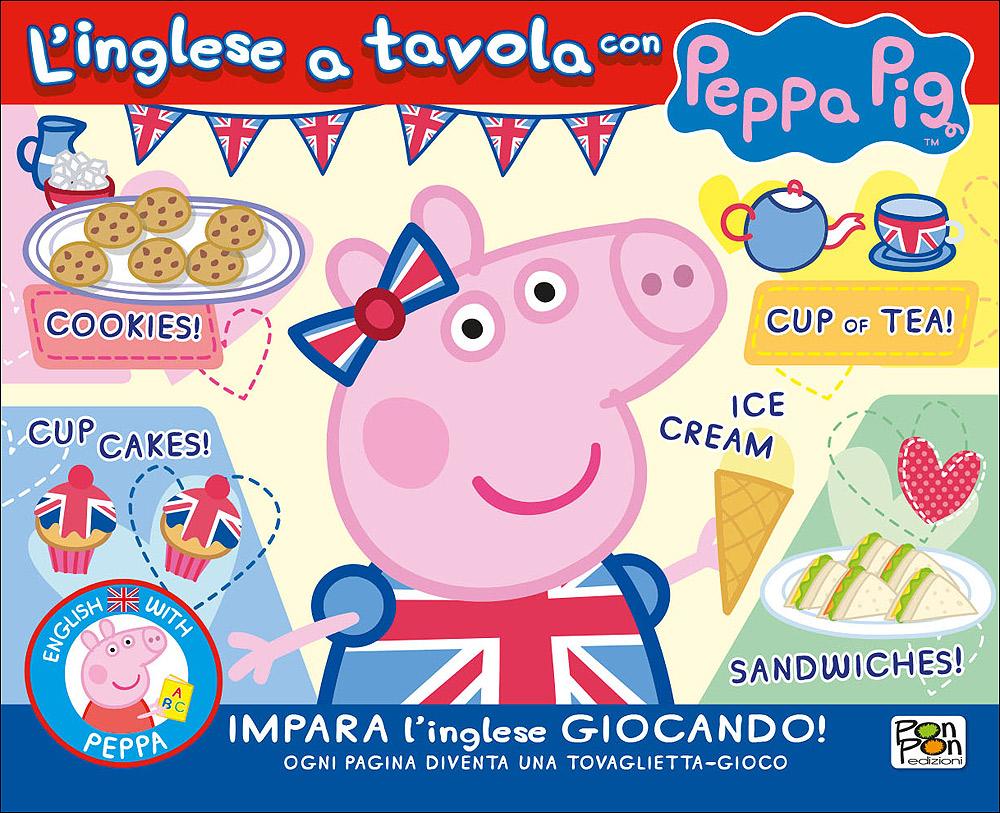 L'inglese a tavola con Peppa Pig
