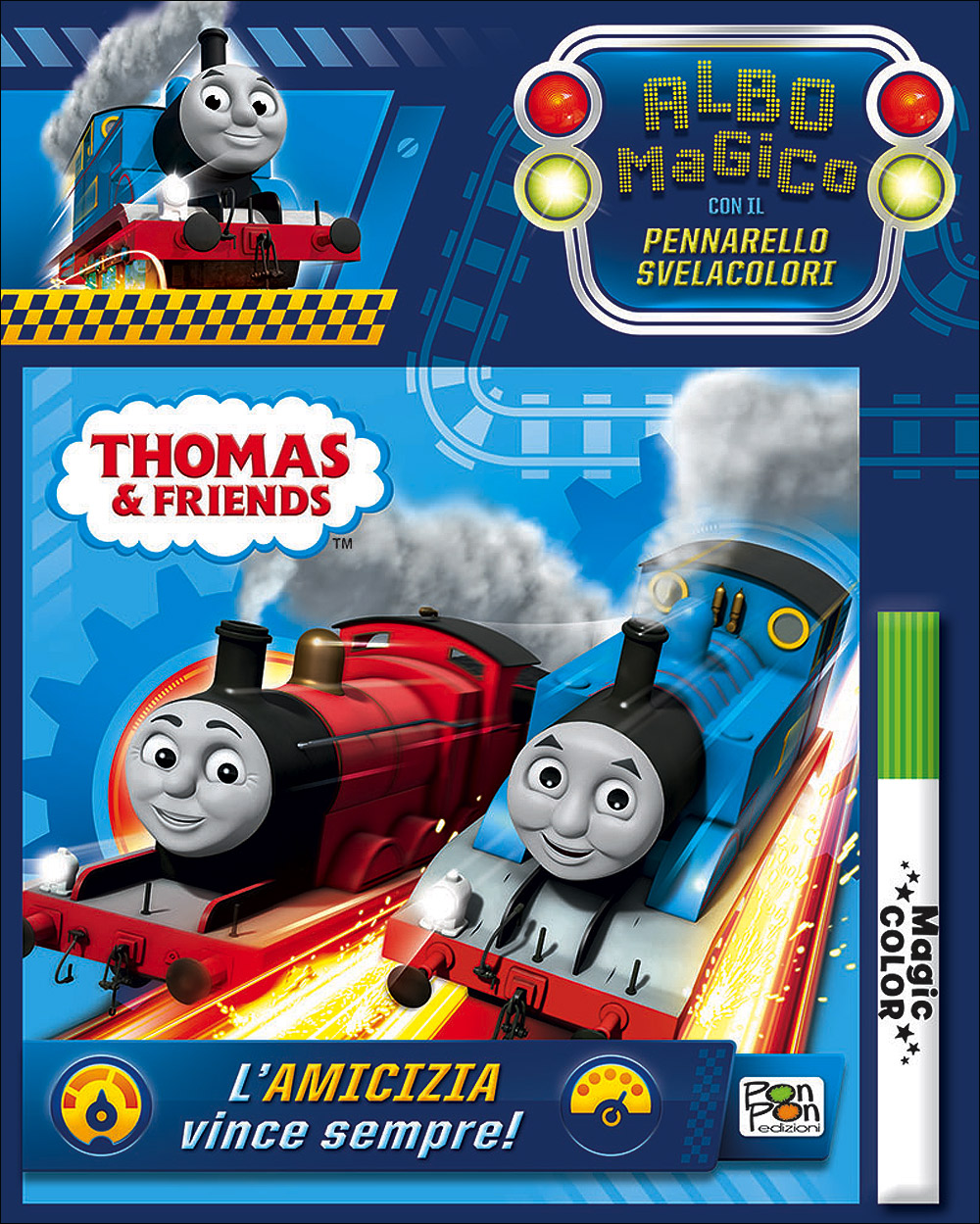 Albo Magico Trenino Thomas - L'amicizia vince sempre!