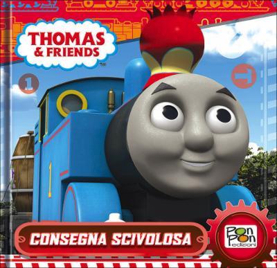 Trenino Thomas - Consegna scivolosa