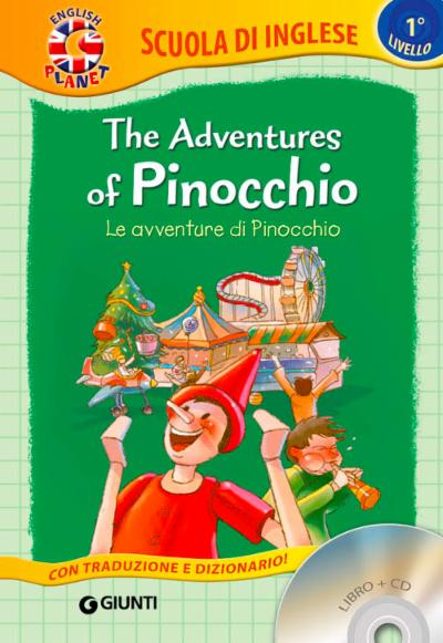 The adventures of Pinocchio + CD