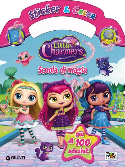 Sticker & Color Little Charmers - Scuola di magia