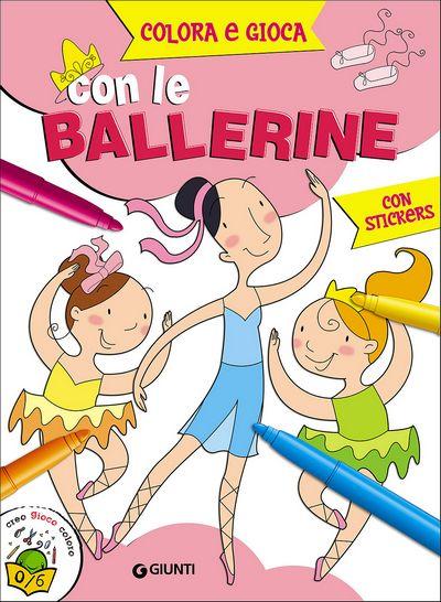Colora e gioca con le Ballerine