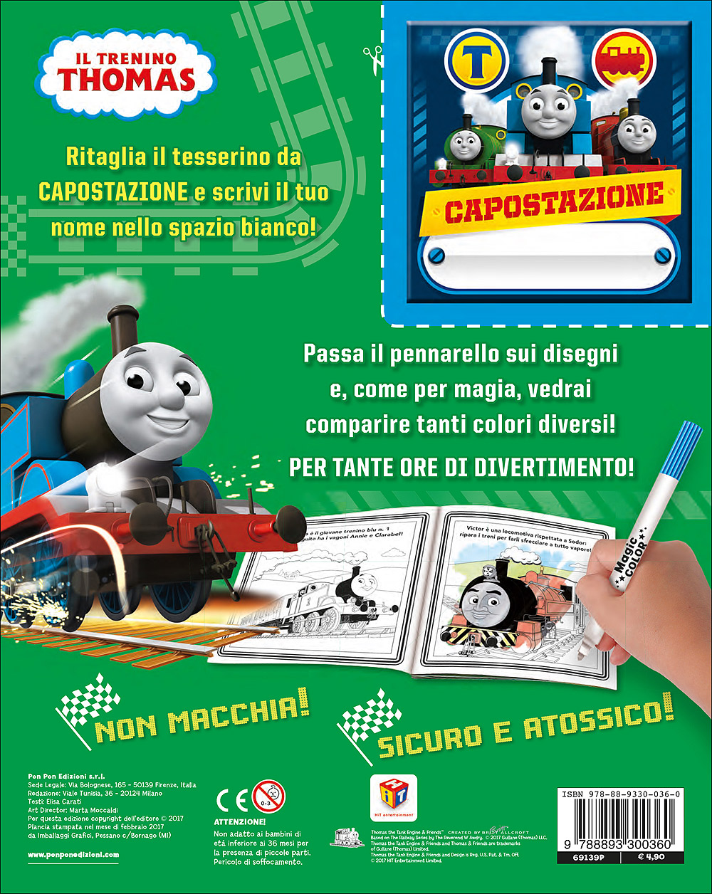 Albo Magico Trenino Thomas - Vagoni straordinari!