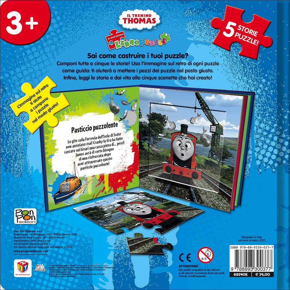Trenino Thomas - Il mio primo libro puzzle