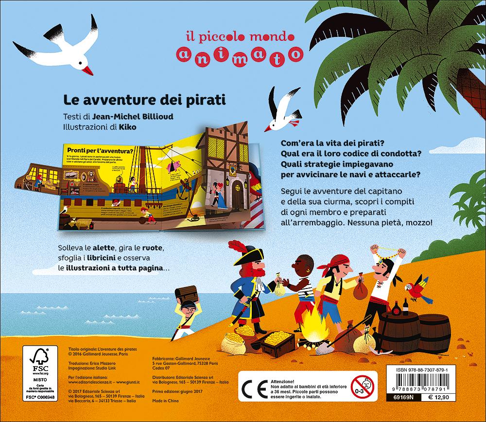 Il piccolo mondo animato - Le avventure dei pirati
