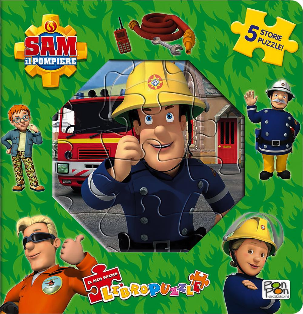 Sam il pompiere - Il mio primo libro puzzle