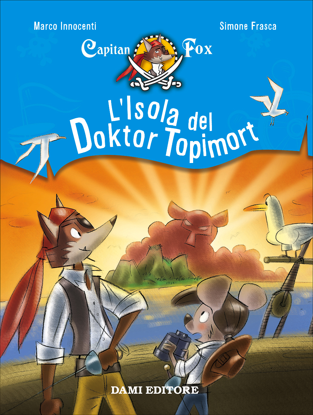 Capitan Fox - L'Isola del Doktor Topimort