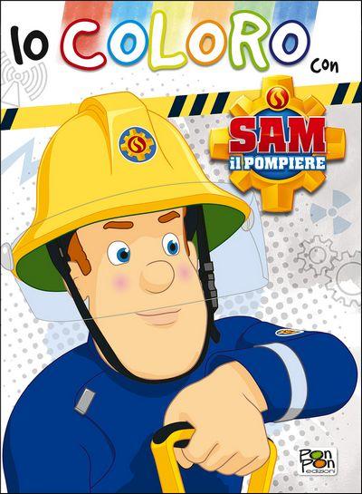 Io coloro con Sam il pompiere