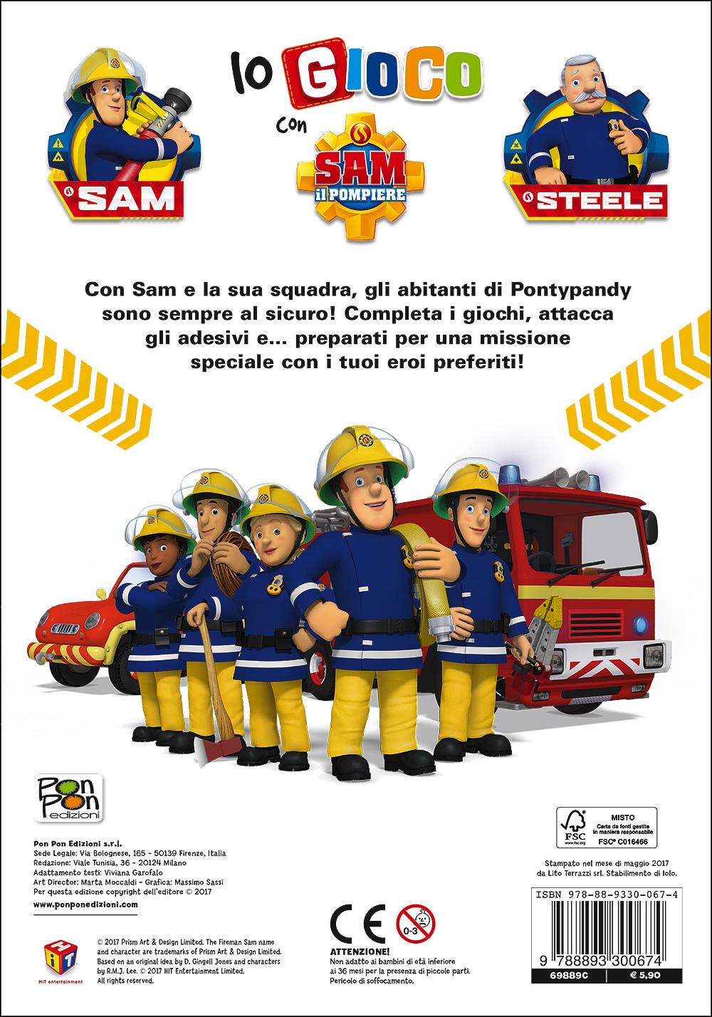 Io gioco con Sam il pompiere