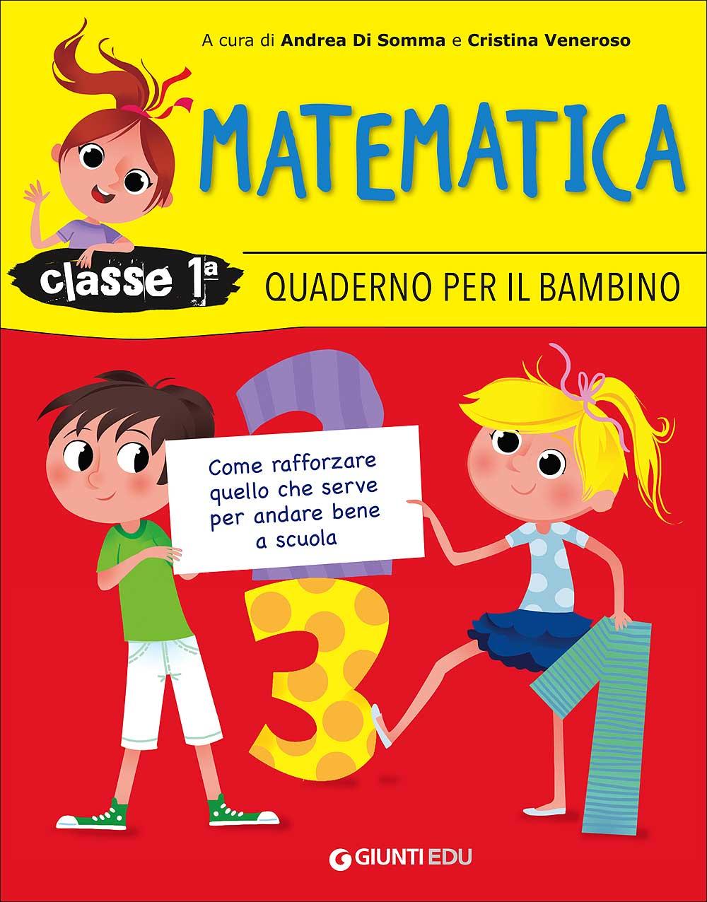 Quaderno per il bambino - Matematica 1