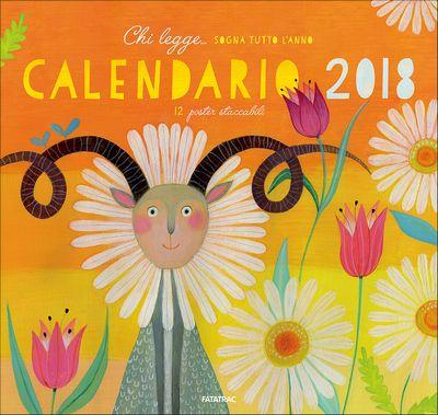 Calendario 2018 - Chi legge... sogna tutto l'anno