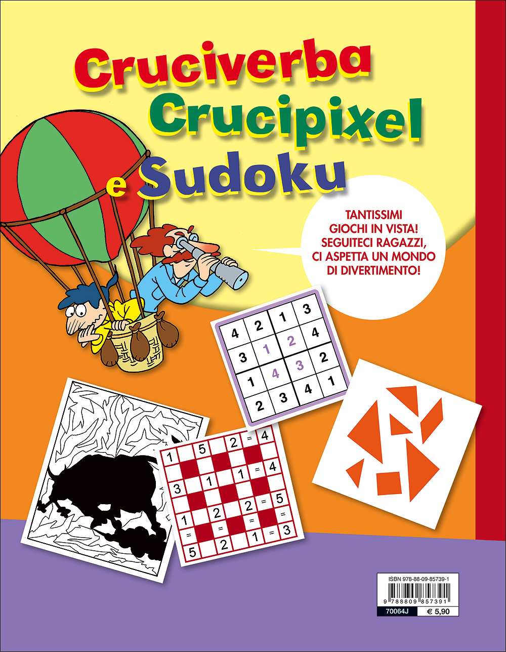 Cruciverba Crucipixel e Sudoku