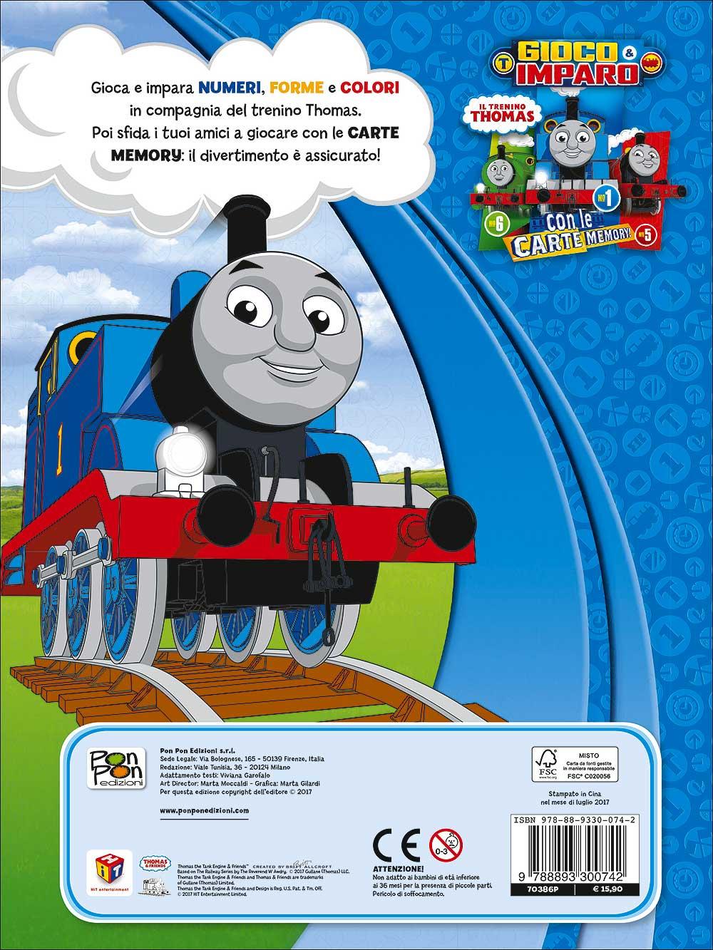 Trenino Thomas - Gioco e Imparo