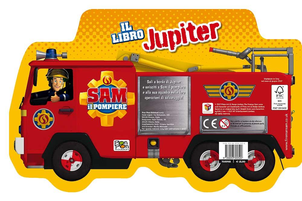 Sam il pompiere - Il Libro Jupiter
