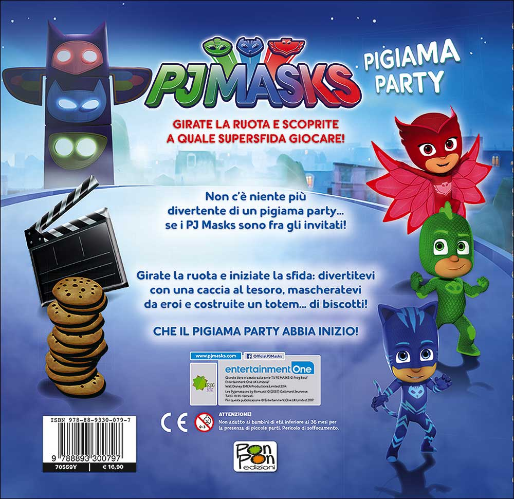 Pj Masks - Pigiama Party