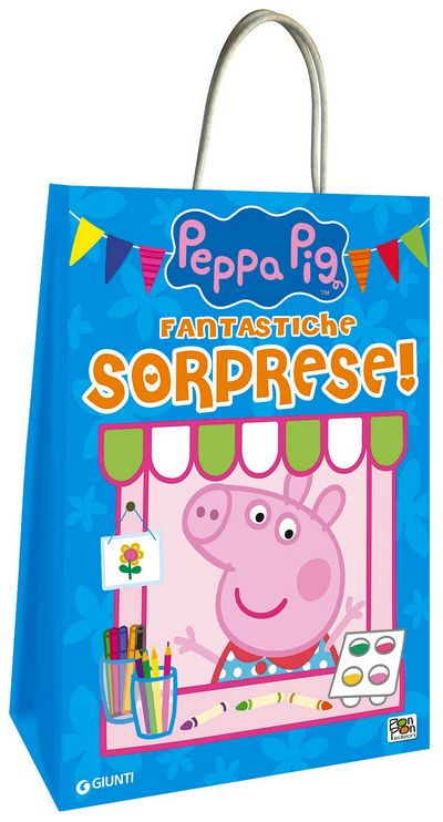 Shopper bag di Peppa Pig - Fantastiche sorprese!