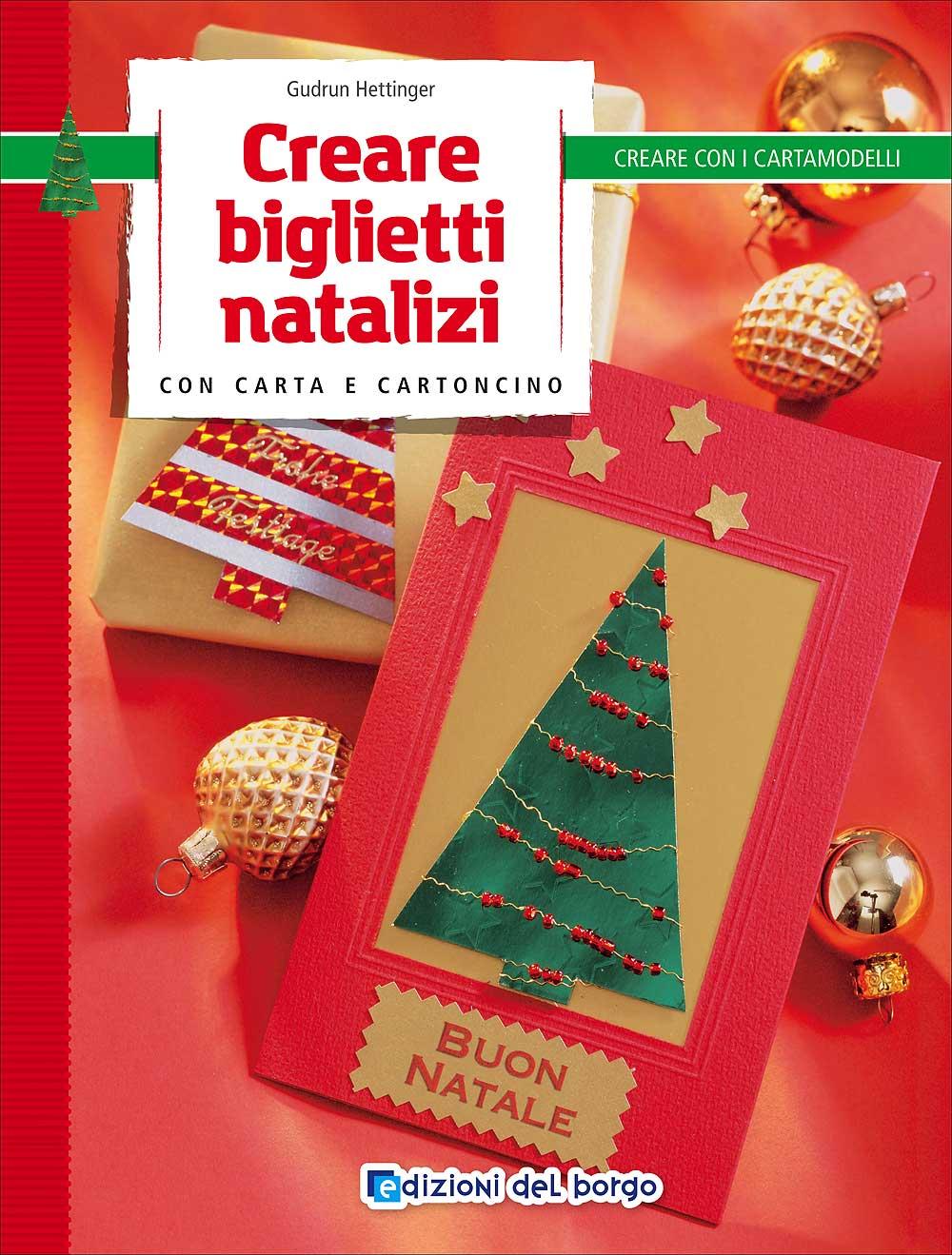 Creare biglietti natalizi con carta e cartoncino