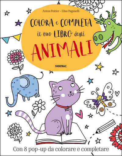 Colora e completa il tuo libro degli Animali