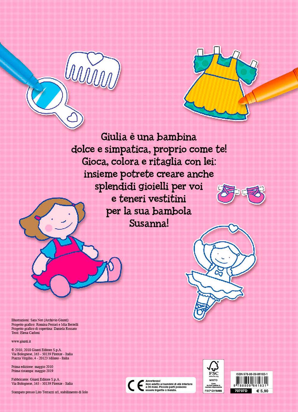 Il Superlibro delle Bambine da colorare