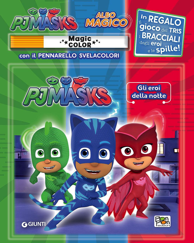 Albo Magico Pj Masks - Gli eroi della notte