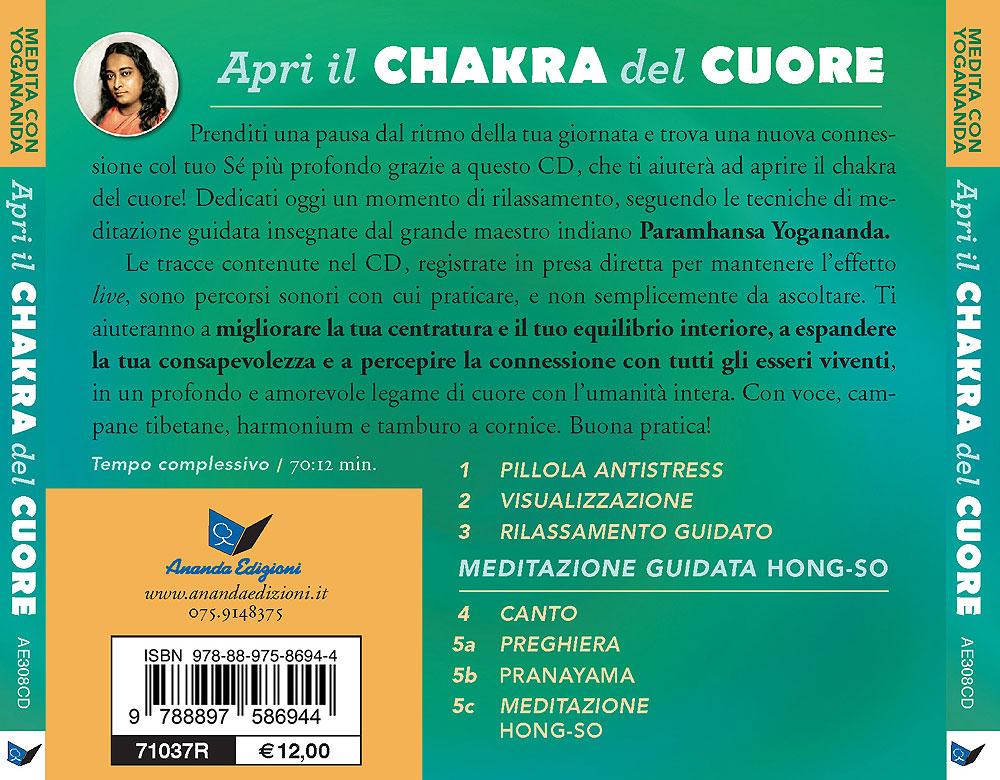 Apri il chakra del cuore - CD Medita con Yogananda