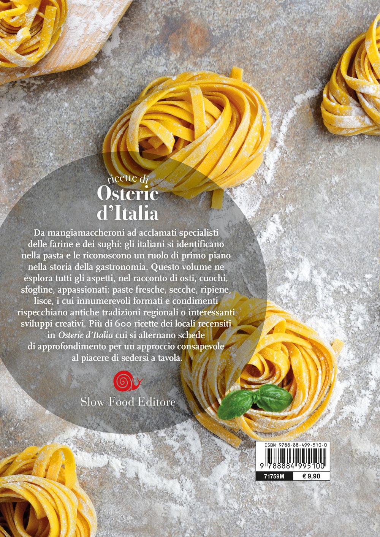 Ricette di osterie d'Italia. La pasta