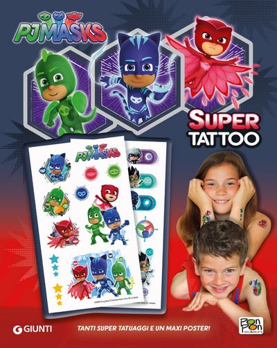 Pj Masks - Super Tattoo