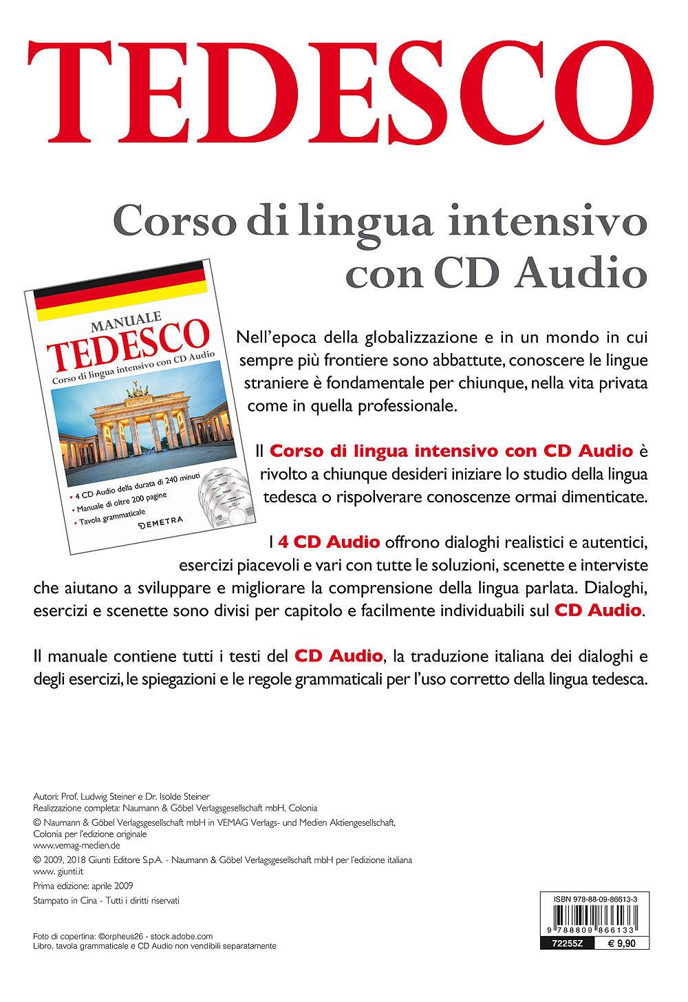 Corso di lingua Tedesco intensivo con CD Audio
