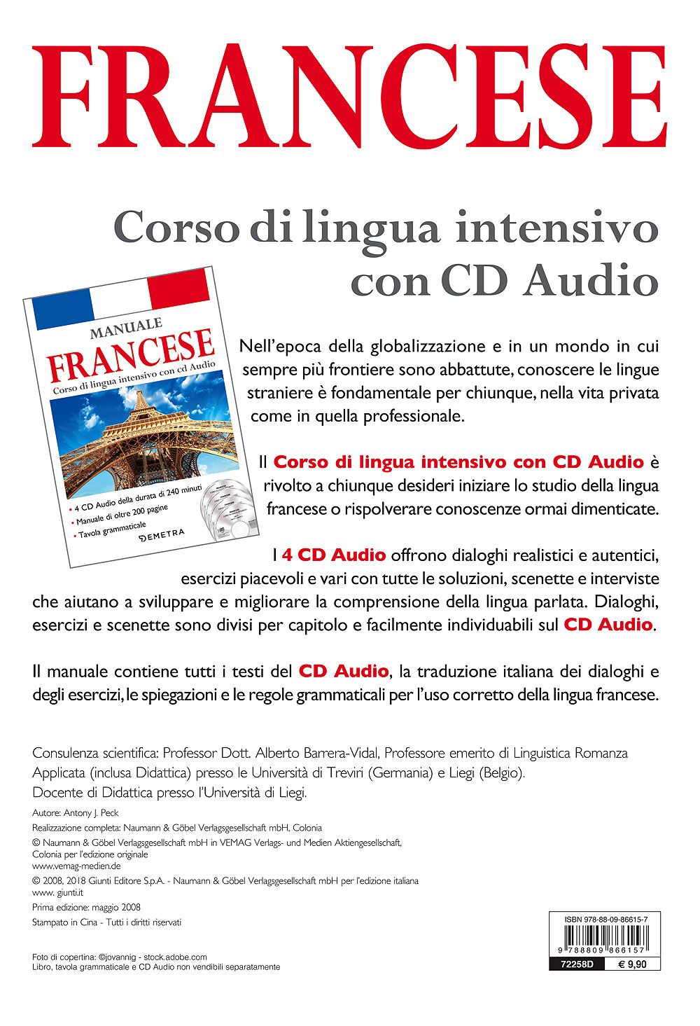 Corso di lingua Francese intensivo con CD Audio