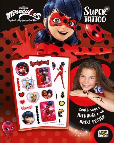 Miraculous LadyBug - Super Tattoo