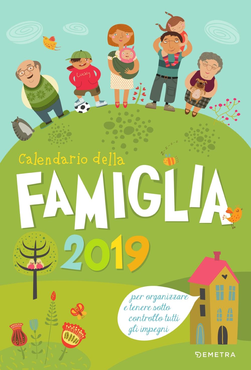 Calendario della famiglia 2019