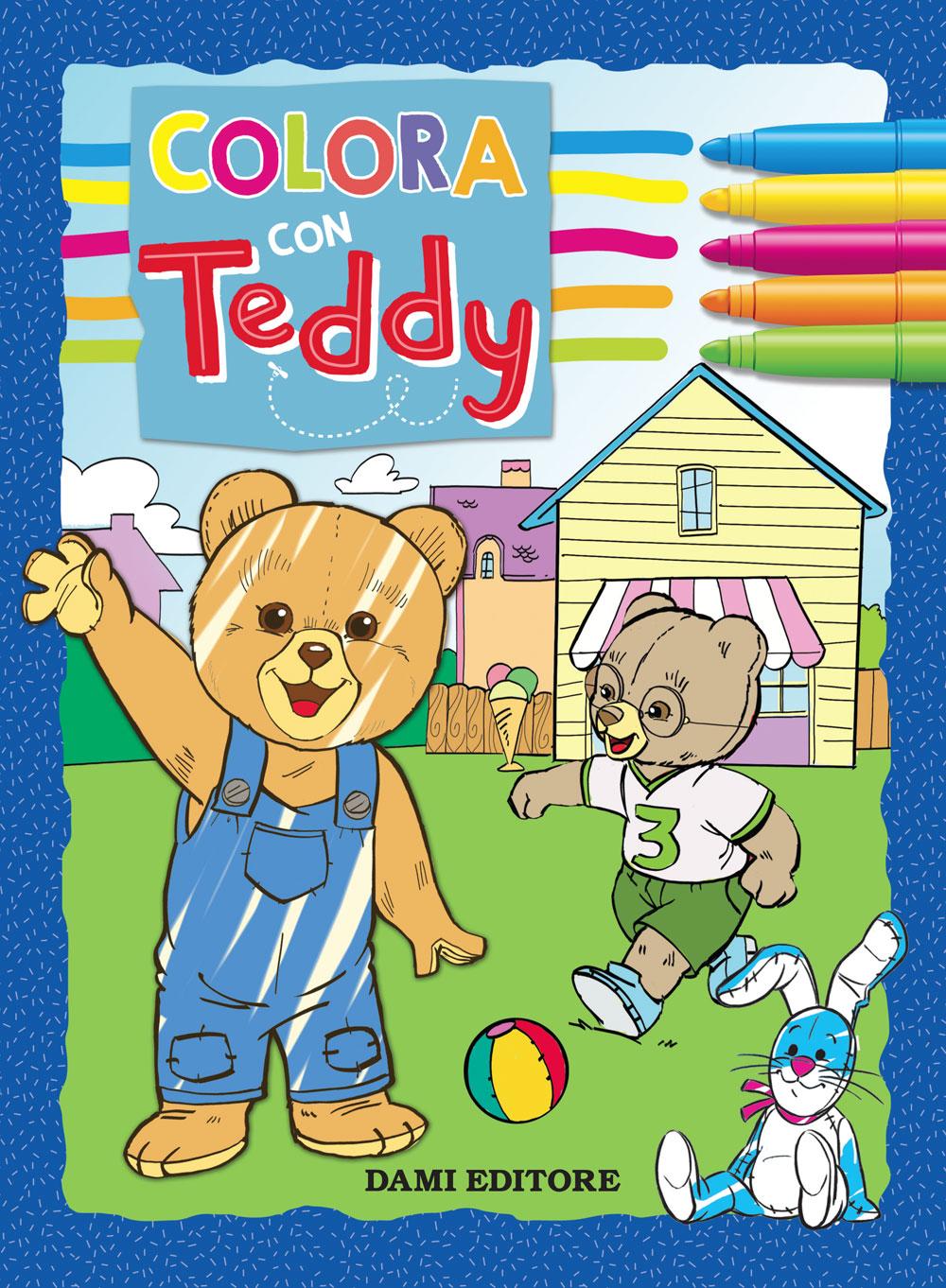 Colora con Teddy
