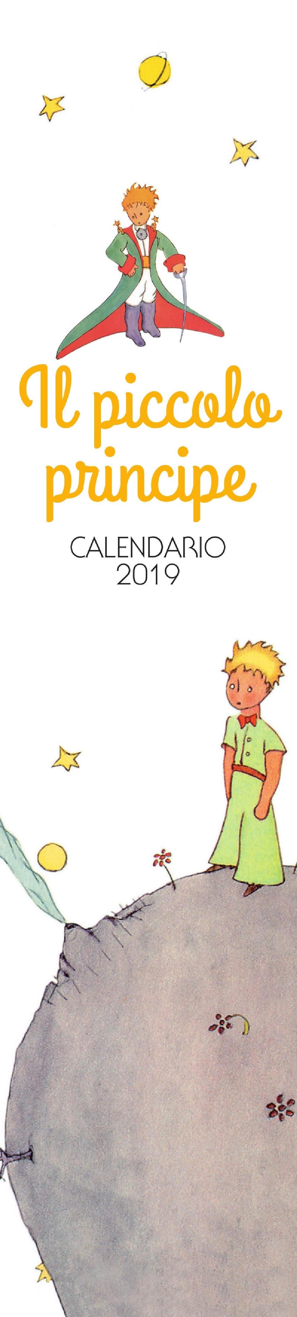 Il Piccolo Principe - Calendario 2019