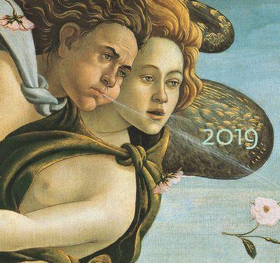 Capolavori dei Musei fiorentini - Calendario 2019