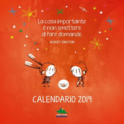 Calendario 2019 Editoriale Scienza