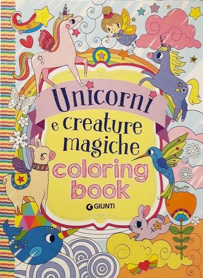 Unicorni e creature magiche - Coloring Book