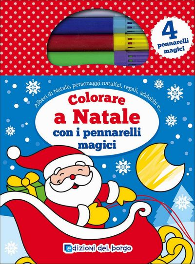 Colorare a Natale con i pennarelli magici