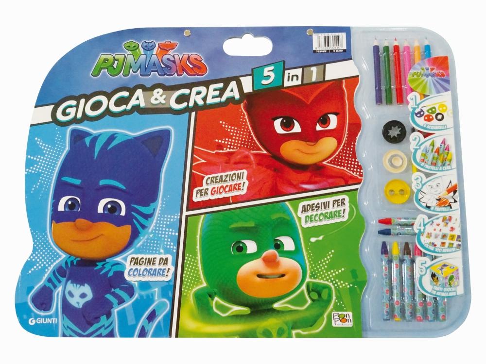 Pj Masks - Gioca & Crea 5 in 1