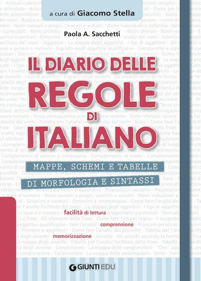 Il diario delle regole di italiano
