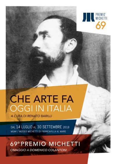 69° Premio Michetti. Che arte fa, oggi, in Italia