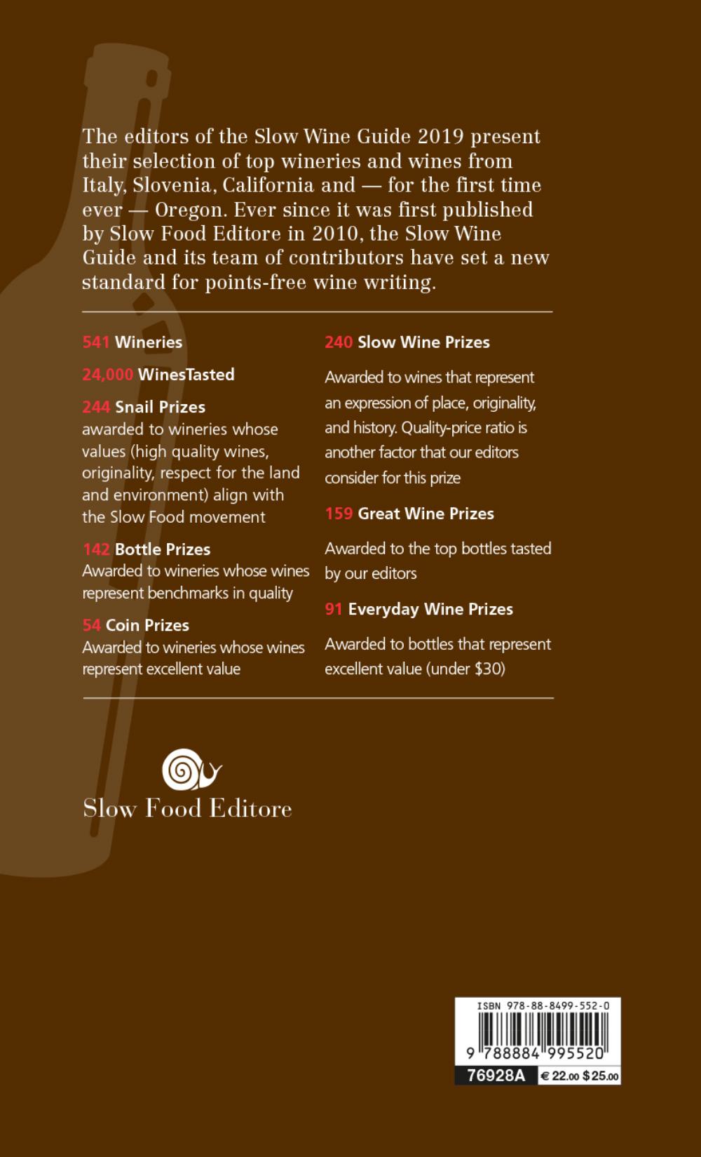 Slow Wine - guide 2019