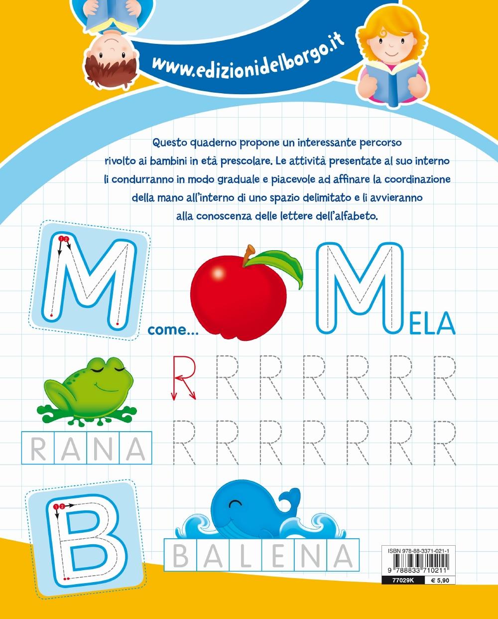 Giocando imparo l'alfabeto