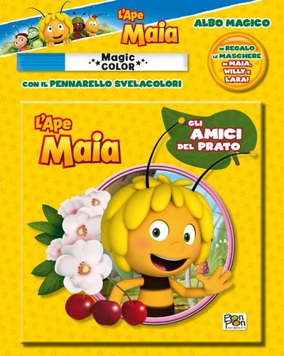 Albo Magico Ape Maia - Gli amici del prato