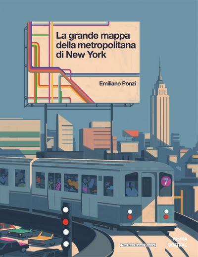 La grande mappa della metropolitana di New York