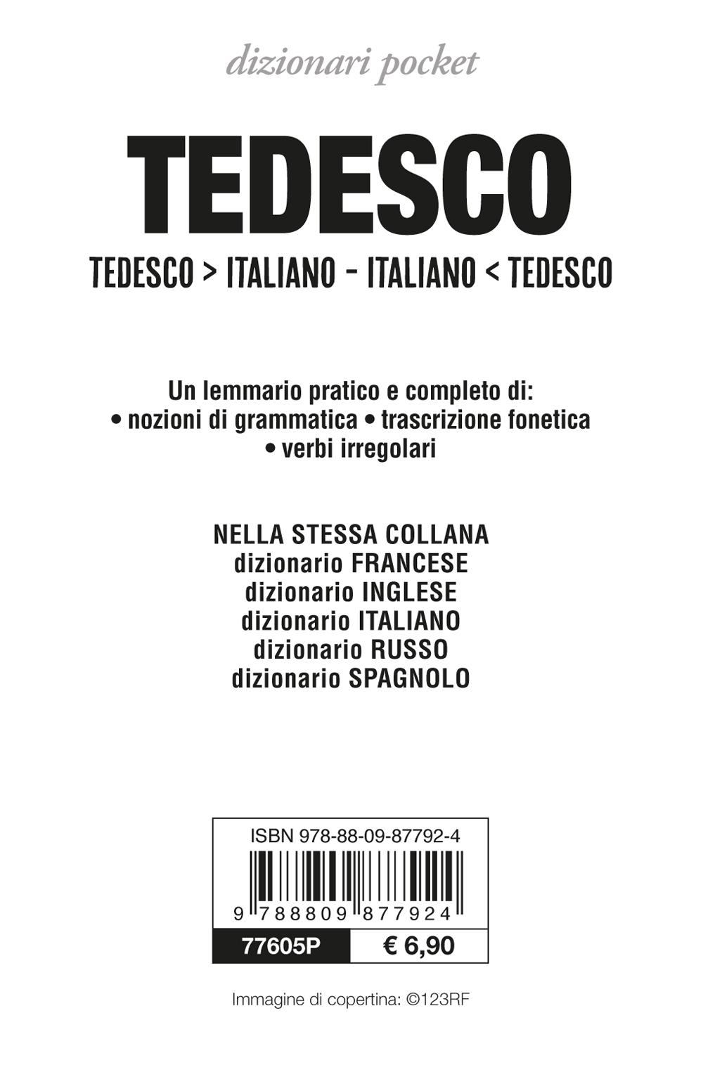 Dizionario tedesco-italiano, italiano-tedesco