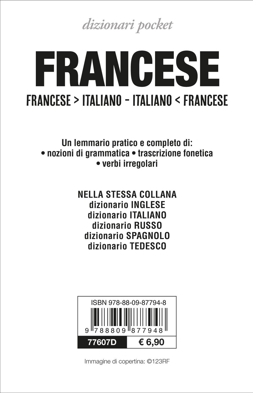 Dizionario francese-italiano, italiano-francese