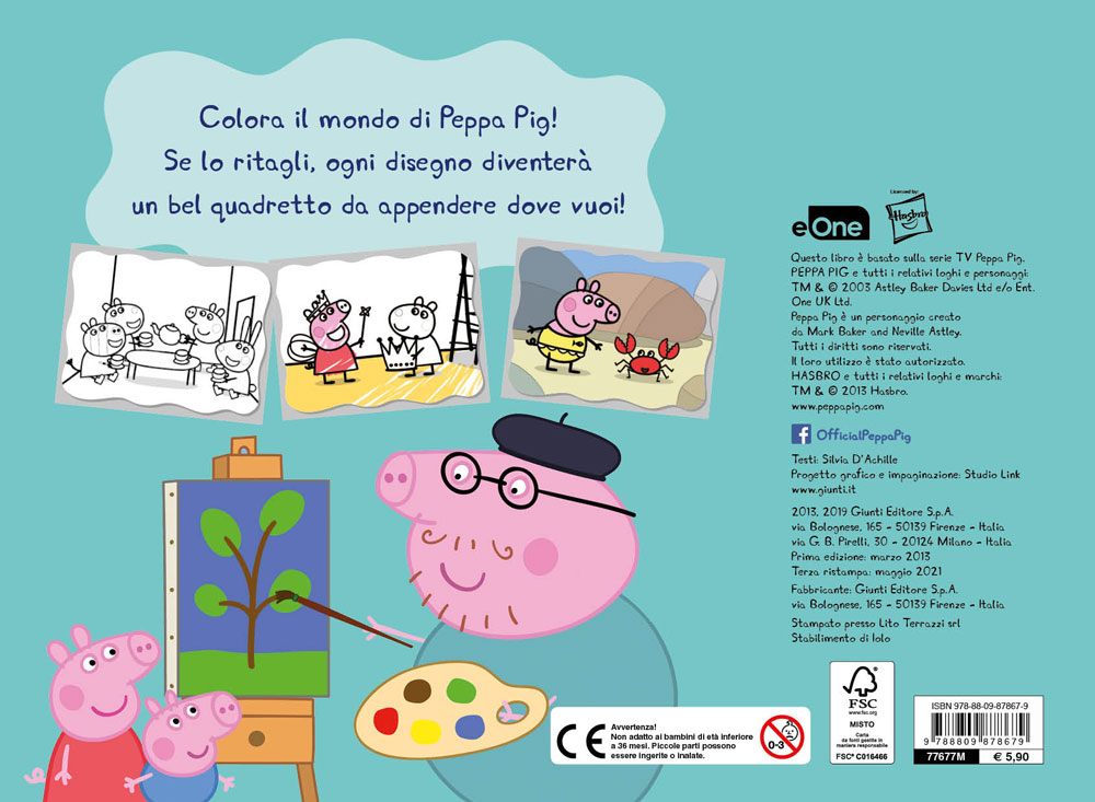 Peppa albo color